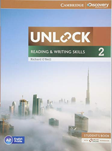9781107614000: Unlock Level 2 Reading and Writing Skills Student's Book and Online Workbook