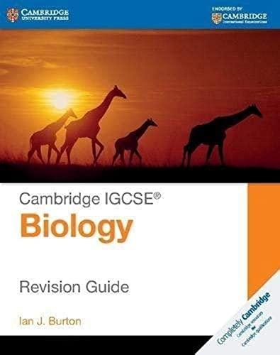 9781107614499: Cambridge IGCSE® biology. Revision guide. Per le Scuole superiori