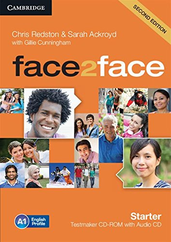face2face Starter Testmaker CD-ROM and Audio CD (1107614732) by Redston, Chris; Ackroyd, Sarah