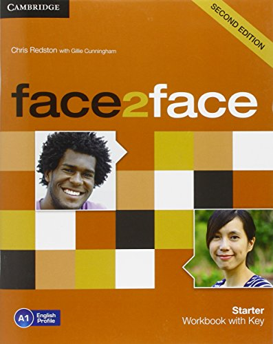 9781107614765: face2face Starter Workbook with Key Second Edition