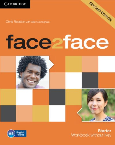 9781107614772: face2face Starter Workbook without Key