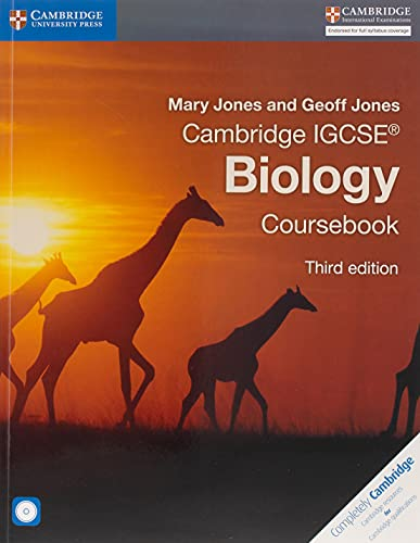 9781107614796: Cambridge IGCSE biology. Per le Scuole superiori. Con CD-ROM. Con espansione online (Cambridge International IGCSE)