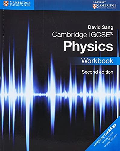 9781107614888: Cambridge IGCSE physics. Workbook. Per le Scuole superiori. Con espansione online (Cambridge International IGCSE)