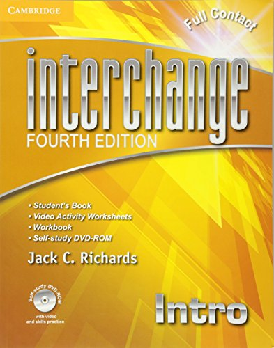 9781107614956: Interchange 4th Intro Full Contact with Self-study DVD-ROM (Interchange Fourth Edition)