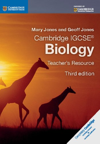 9781107614963: Cambridge IGCSE: Biology. Teacher's Resource (Cambridge International IGCSE)