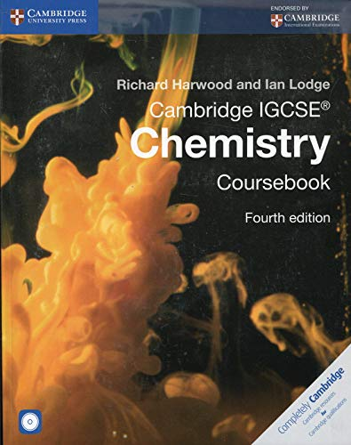 Cambridge IGCSE Chemistry Coursebook with CD-ROM (Cambridge International Examinations): Harwood, ...