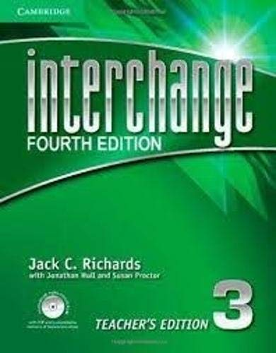 9781107615069: Interchange 4th 3 Teacher's Edition with Assessment Audio CD/CD-ROM (Interchange Fourth Edition)