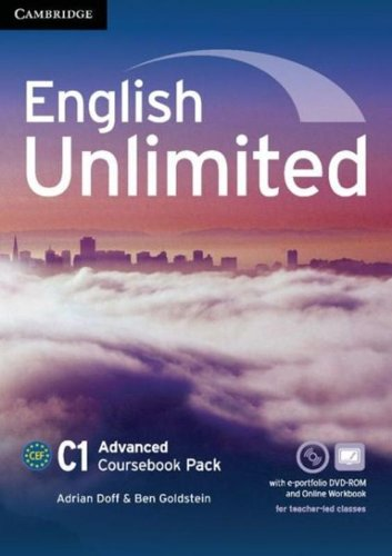 9781107615113: English Unlimited Advanced Coursebook with e-Portfolio and Online Workbook Pack