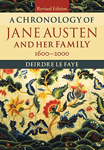 9781107615120: A Chronology of Jane Austen and her Family: 1600-2000