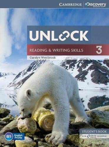 9781107615267: Unlock. Level 3. Reading and writing skills student's book and online workbook. Per le Scuole superiori. Con e-book. Con espansione online