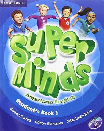 9781107615878: Super Minds American English  1 Student's Book with DVD-ROM