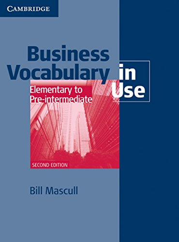 9781107616189: Business Vocabulary In Use Elementary To Pre-Int. 2/e With Ans. And CD-ROM South Asian Ed.