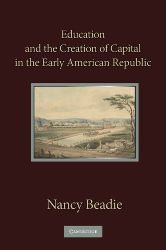Education and the Creation of Capital in the Early American Republic: Beadie, Nancy