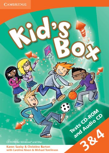 Kid's Box Levels 3-4 Tests CD-ROM and Audio CD (Hardcover): Christine Barton