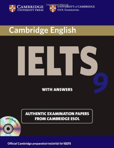 9781107618176: Cambridge Ielts 9 Self-Study Pack (Student's Book with Answers and Audio CDs (2)) China Reprint Edition: Authentic Examination Papers from Cambridge ESOL (IELTS Practice Tests)