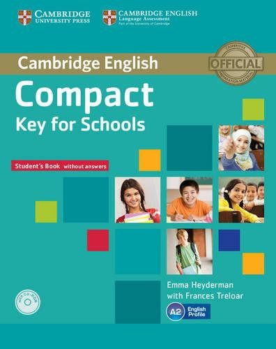 9781107618633: Compact Key for Schools Student's Book without Answers with CD-ROM