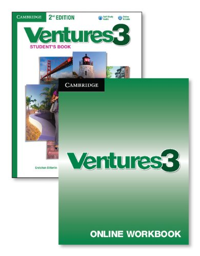 9781107618732: Ventures Level 3 Digital Value Pack (Student's Book with Audio CD and Online Workbook)