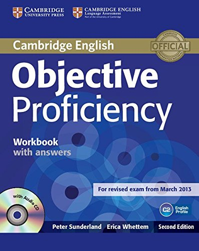 9781107619203: Objective Proficiency Workbook with Answers with Audio CD [Lingua inglese]