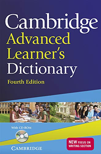 9781107619500: Cambridge Advanced Learner's Dictionary with CD-ROM 4th Edition