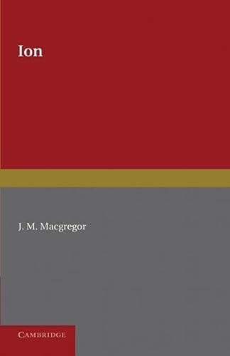 Ion: Plato,; MacGregor, J. M.