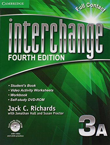 9781107620421: Interchange Level 3 Full Contact A with Self-study DVD-ROM (Interchange Fourth Edition)