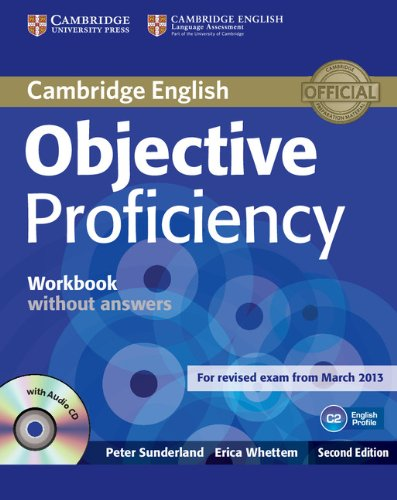 9781107621565: Objective Proficiency Workbook without Answers with Audio CD