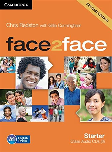 9781107621688: face2face Starter Class Audio CDs (3) Second Edition