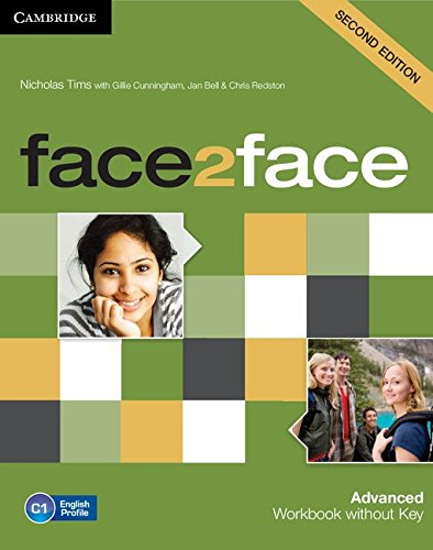 9781107621855: face2face Advanced Workbook without Key Second Edition