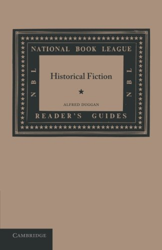 Historical Fiction (National Book League Readers' Guides): Duggan, Alfred