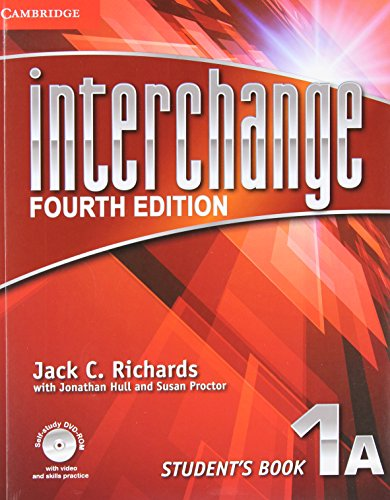 9781107622388: Interchange Level 1 Student's Book A with Self-study DVD-ROM and Online Workbook A Pack 4th Edition (Interchange Fourth Edition)