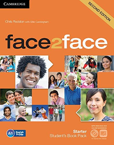 9781107622685: face2face Starter Student's Book with DVD-ROM and Online Workbook Pack