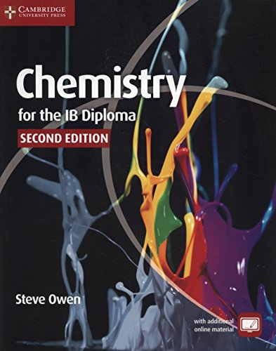 Chemistry for the IB Diploma Coursebook with Free Online Material: Owen, Steve