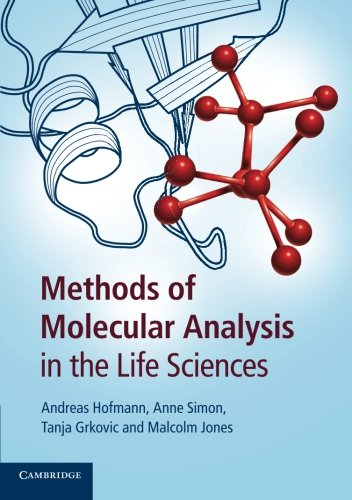 9781107622760: Methods of Molecular Analysis in the Life Sciences