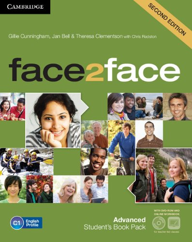 face2face Advanced Student's Book with DVD-ROM and Online Workbook Pack: Gillie Cunningham