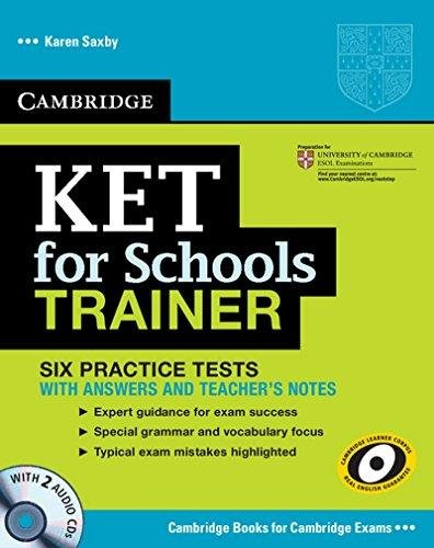 9781107623699: Ket for Schools Trainer Six Practice Tests with Answers, Teachers Notes and 2 Audio CDs