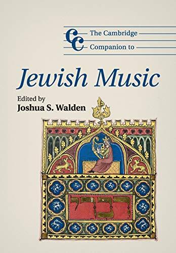 9781107623750: The Cambridge Companion to Jewish Music (Cambridge Companions to Music)