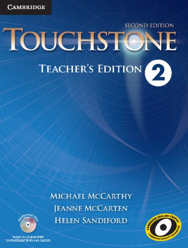 9781107624023: Touchstone Level 2 Teacher's Edition with Assessment Audio CD/CD-ROM Second Edition