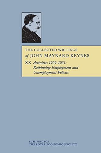 9781107624580: 20: The Collected Writings of John Maynard Keynes (Volume 20)