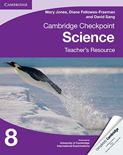 9781107625051: Cambridge Checkpoint Science Teacher's Resource 8 (Cambridge International Examinations)