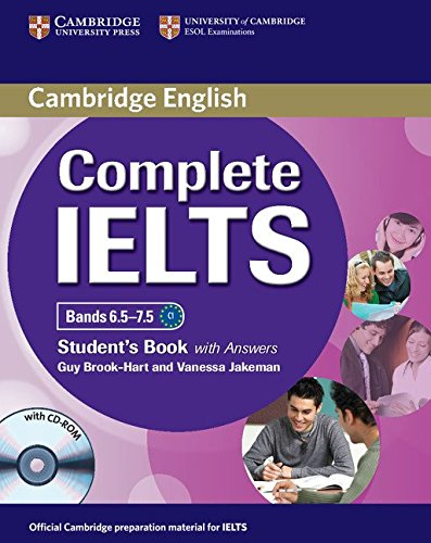 9781107625082: Complete IELTS Bands 6.5-7.5 Student's Book with Answers with CD-ROM