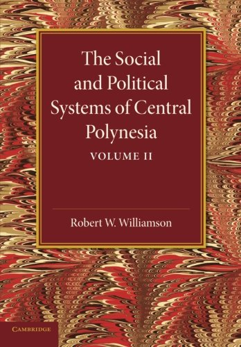 9781107625709: The Social and Political Systems of Central Polynesia: Volume 2