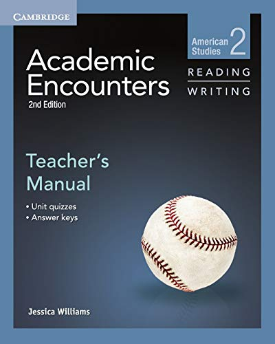 9781107627222: Academic Encounters Level 2 Teacher's Manual Reading and Writing: American Studies