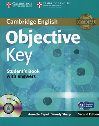 9781107627246: Objective Key 2nd Student's Book with Answers with CD-ROM