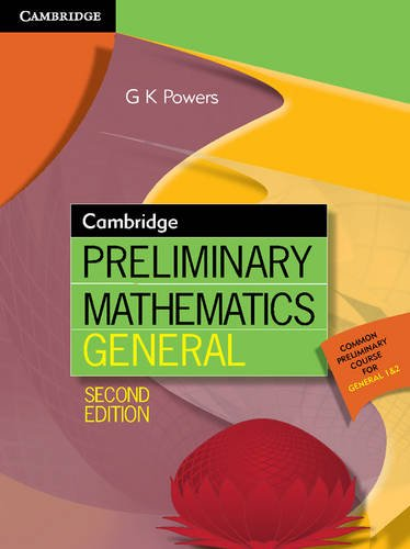 Cambridge Preliminary Mathematics General (Paperback): Greg Powers