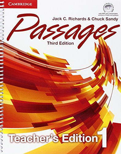 9781107627680: Passages Level 1 Teacher's Edition with Assessment Audio CD/CD-ROM