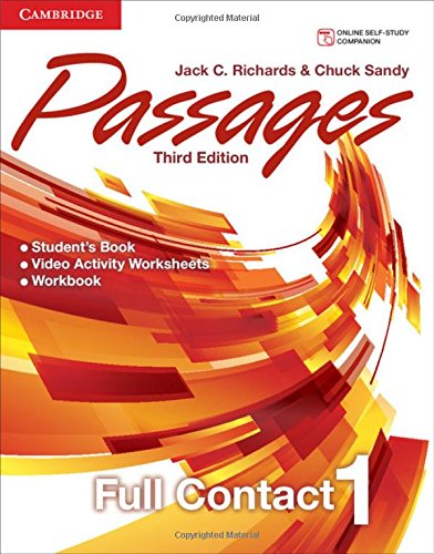 9781107627697: Passages Level 1 Full Contact