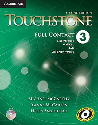 9781107627949: Touchstone Level 3 Full Contact