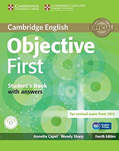 9781107628304: Objective first certificate. Student's book with answers. Con espansione online. Per le Scuole superiori. Con CD-ROM