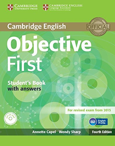 Objective First With Answers: Capel, Annette;sharp, Wendy