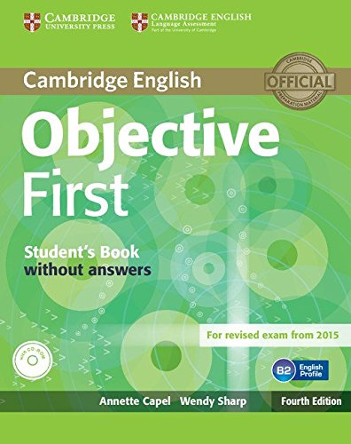 9781107628342: Objective first certificate. Student's book. Without answers. Per le Scuole superiori. Con CD-ROM. Con espansione online